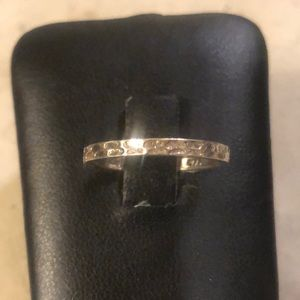 Silpada Hammered Stackable Ring